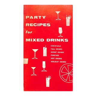"""""""Party Recipes for Mixed Drinks"""" For Sale"""
