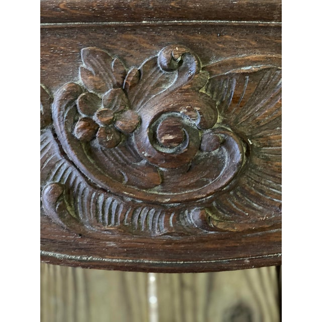 Antique English Carved Window Cornices - a Pair For Sale In Atlanta - Image 6 of 8