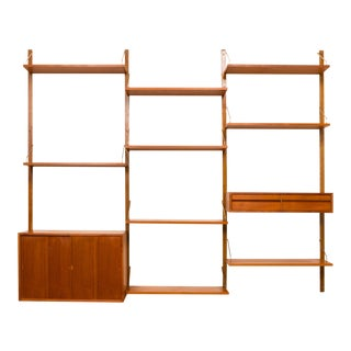 Vintage Danish Mid-Century Royal System by Poul Cadovius in Teak #7 For Sale