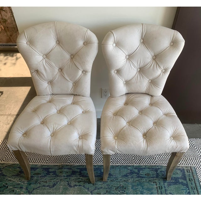 Timothy Oulton's Halo Chester Dining Chairs- A Pair For Sale - Image 12 of 12