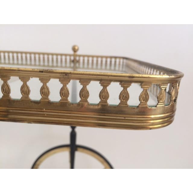 1940s French Bar Cart From the 1940's For Sale - Image 5 of 10