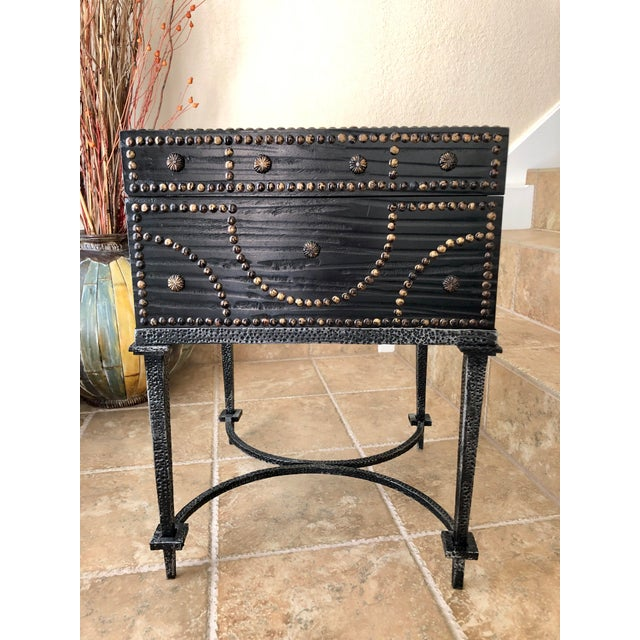 Document Box Accent Table From the Colonial Williamsburg Collection by Global Views For Sale - Image 13 of 13
