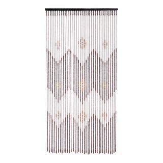 Southwestern Style Wooden Bead Door Curtain