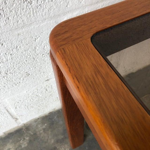 Vintage Mid Century Danish Modern End Table by Uldum Mobelfabrik. For Sale - Image 10 of 13