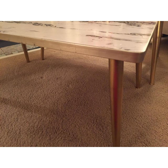 Mid-Century Formica Marble End Tables - A Pair - Image 10 of 10