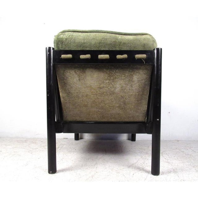 Mid-Century Modern Style Tufted Side Chair For Sale - Image 4 of 10