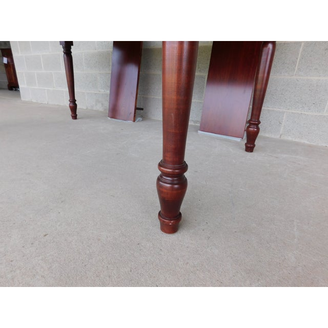 Tom Seely Solid Cherry Country Style Dining Table For Sale - Image 10 of 11