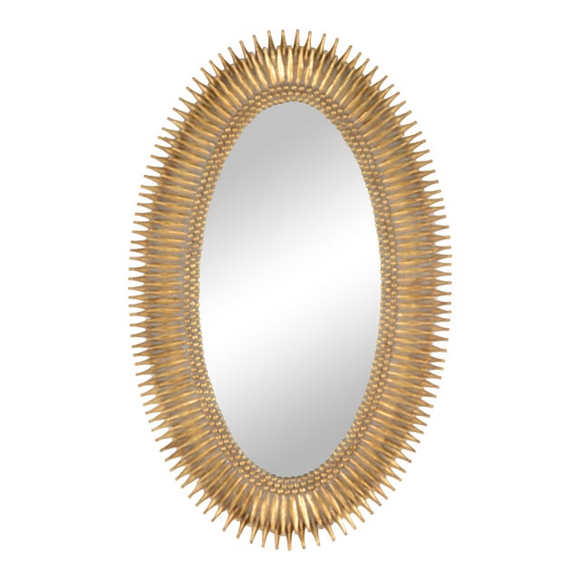 Lucius Mirror in Gold For Sale