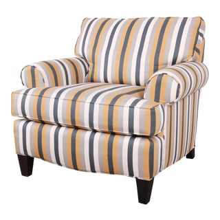 Contemporary Upholstered Lounge Chair by Smith Brothers For Sale
