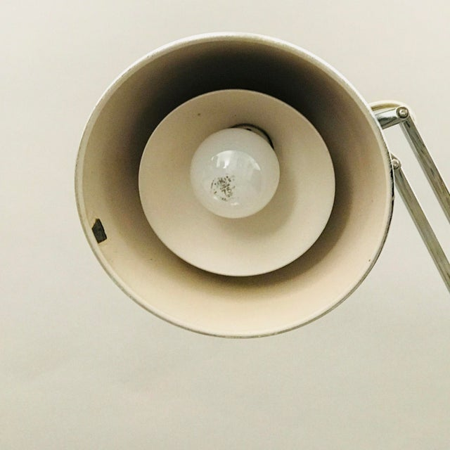 Silver Pair of Luxo Norway Lamps For Sale - Image 8 of 9