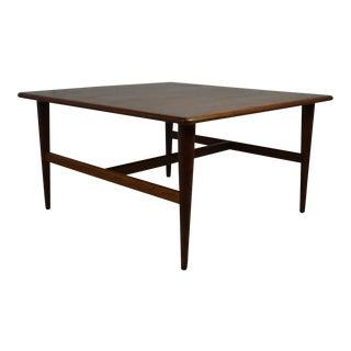 Mid-Century Teak Coffee Table For Sale