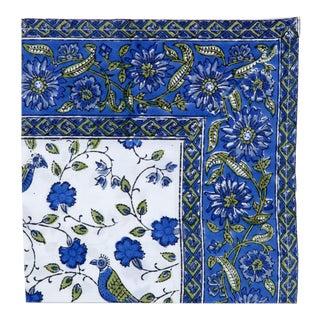 Blue Birds On Vine Napkins - Set of 2 For Sale