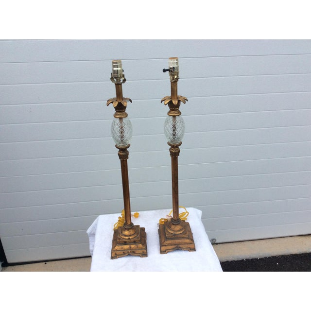 Hollywood Regency Table Lamps - A Pair - Image 2 of 6
