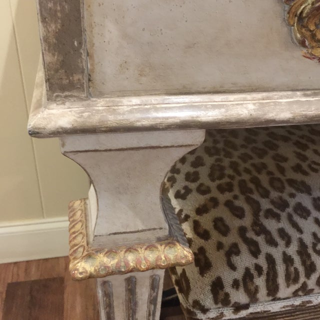 Hollywood Regency Amy Howard Mimi Console For Sale - Image 4 of 8
