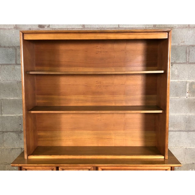 Mid-Century Modern China Cabinet / Bookcase / Display Case - Image 7 of 11