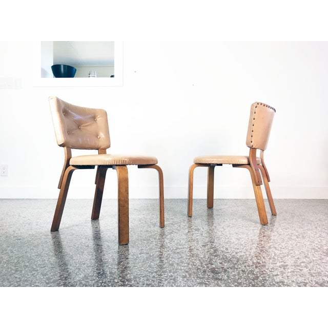 Early Alvar Aalto Model 62 Upholstered Chairs - a Pair For Sale - Image 12 of 13