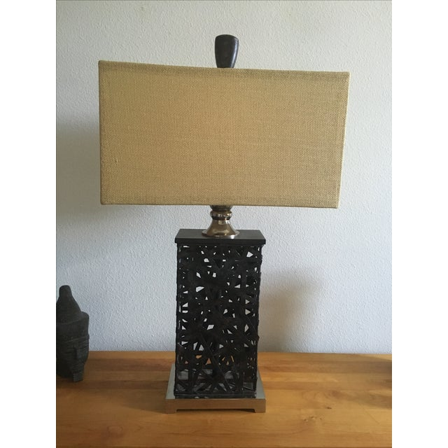 Asian Contemporary Lamp - Image 2 of 5