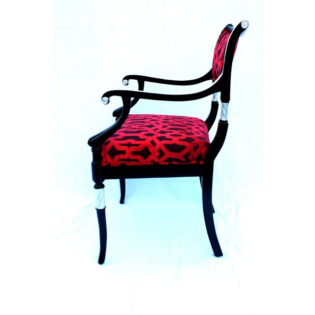 Italian Accent Chair For Sale - Image 4 of 6