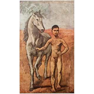 Picasso Boy Leading a Horse Period Lithograph For Sale