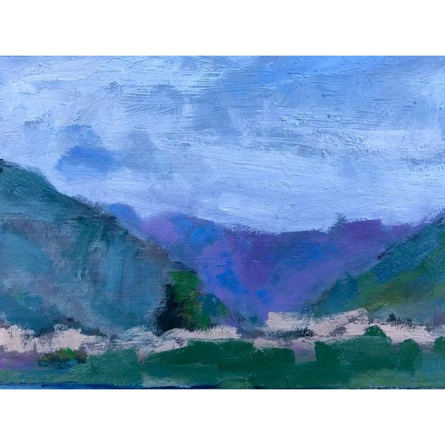 Pena Adobe Park - Plein Air Landscape - Oil Painting For Sale In San Francisco - Image 6 of 8
