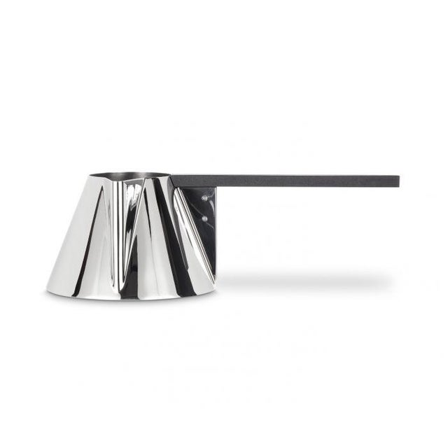 Contemporary Tom Dixon Brew Milk Pan Stainless Steel For Sale - Image 3 of 6