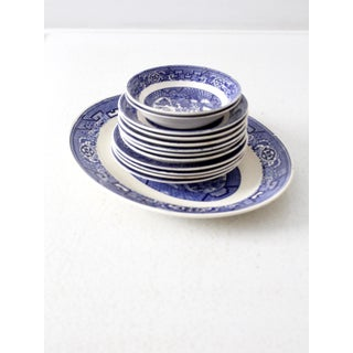 Home Laughlin Blue Willow Ware Dishes - Set of 13 Preview