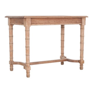 Antique Faux Bamboo Dining Table For Sale