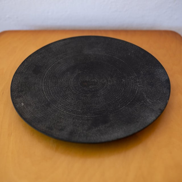 Mid-Century Modern Modernist Japanese Tetsubin Low Iron Bowl, 1960s For Sale - Image 3 of 8