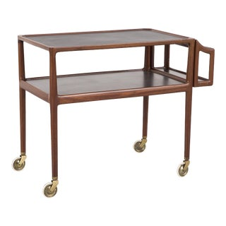 Bar Cart Attributed to Poul Hundevad For Sale