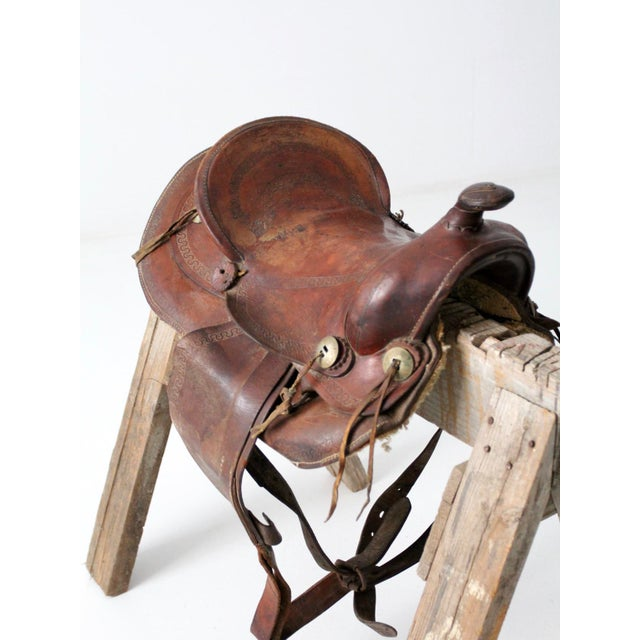 Vintage Simco Saddle - Image 6 of 13