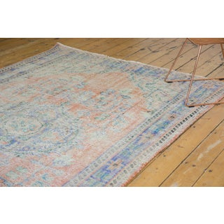 "Vintage Distressed Oushak Carpet - 6'2"" X 9'8"" Preview"