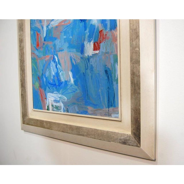 Abstract Contemporary Calamassi Alessandro Italian Painting For Sale - Image 4 of 6
