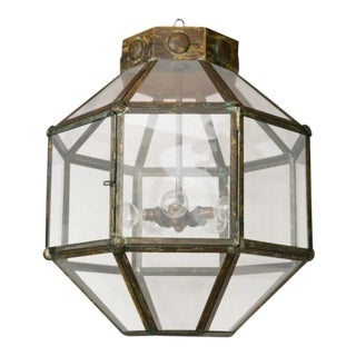 Italian Antiqued Brass Lantern/ Multiples available
