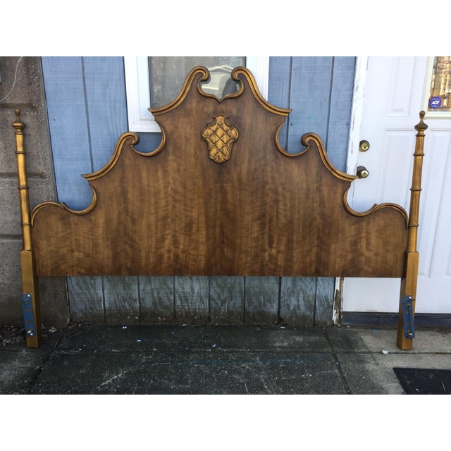 Vintage French Style King Size Headboard - Image 5 of 5