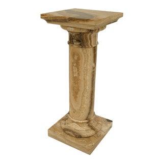 Italian Neo-Classic Onyx Pedestal For Sale