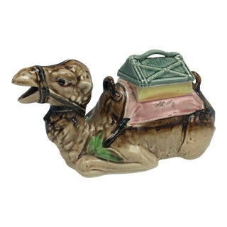 Vintage Camel Decorative Box For Sale