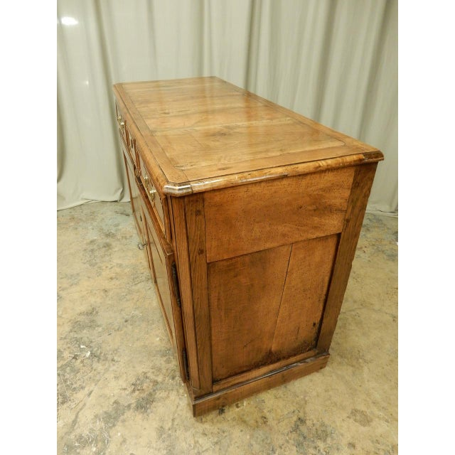 Walnut Early French Walnut 19th Century Directoire' Buffet For Sale - Image 7 of 11