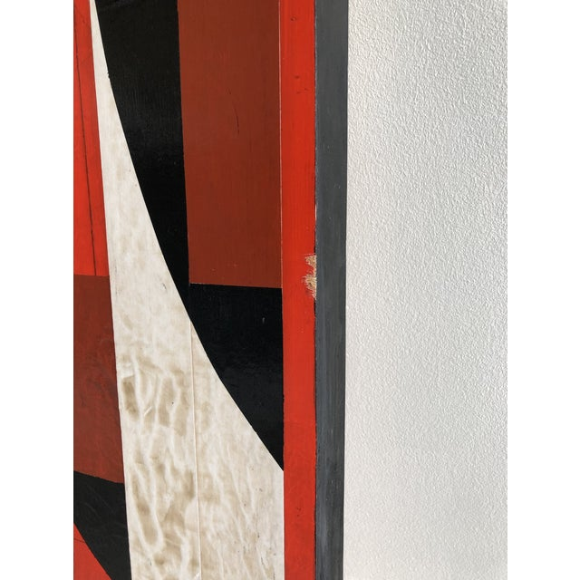 'Jamscape' by David Nelson Marks Acrylic on Wood Size: 30 H x 20 W x 2 in