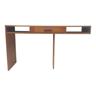 Danish Modern Teak Writing Desk or Console For Sale