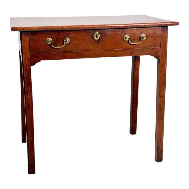 Chippendale Mahogany One Drawer Table, England Circa 1780 For Sale
