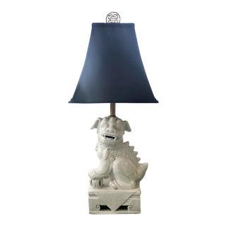 1950s Mid Century Foo Dog Lamp For Sale