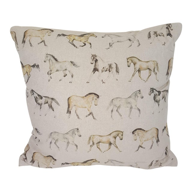 Horses Accent Pillow For Sale