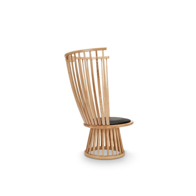 Tom Dixon Fan Chair in Natural For Sale In New York - Image 6 of 7