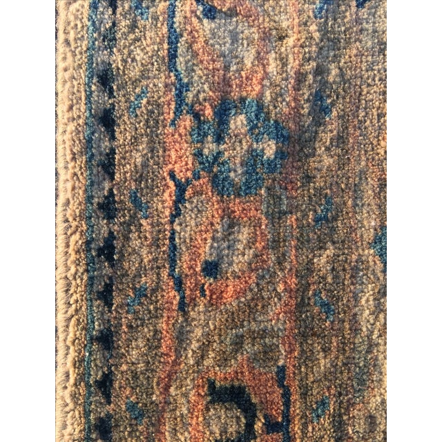 "Vintage Persian Mahal Runner - 3'6"" x 11' - Image 9 of 11"