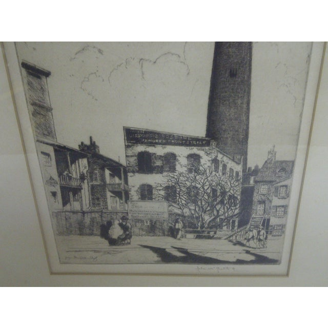 """""""Baltimore"""" Drawing by John McGrath, 1930 For Sale - Image 4 of 6"""