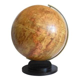 Vintage Wwii 1941-1945 Hammond's Terrestrial Globe For Sale