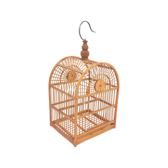 Hanging Decorative Bird Cage - Image 1 of 5