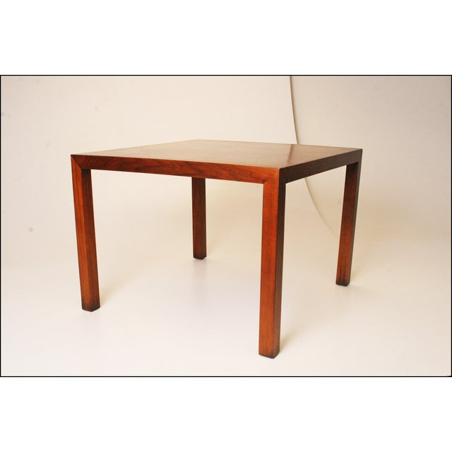 Lane Mid-Century Danish Modern Parsons Coffee Table - Image 4 of 11