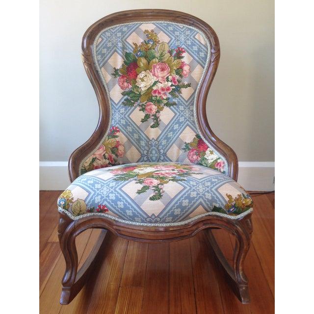 Victorian Ladies' Slipper Rocking Chair - Image 2 of 10