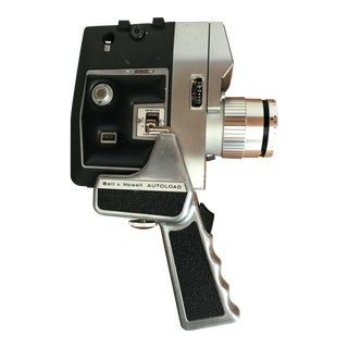 Vintage Movie Camera Bell and Howell Optronic Eye For Sale